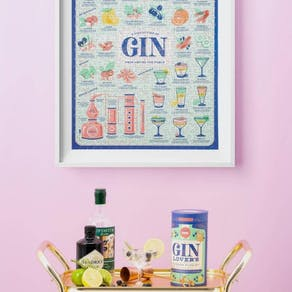 The Gin Lover's 500 Piece Jigsaw Puzzle