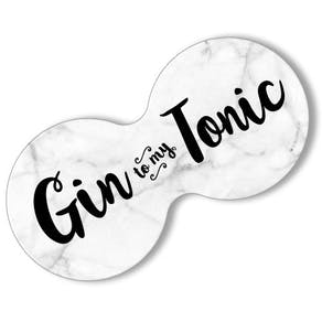 Gin And Tonic Double Drinks Coasters