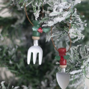Garden Tools Christmas Decoration