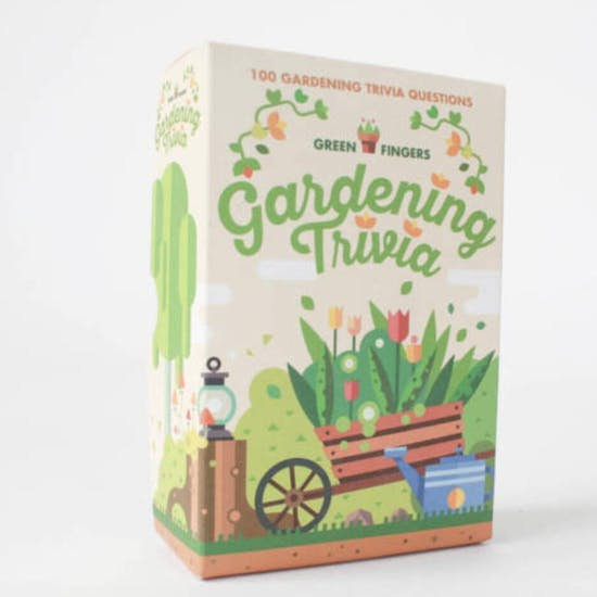 Garden Trivia Game With Personalised Gloves