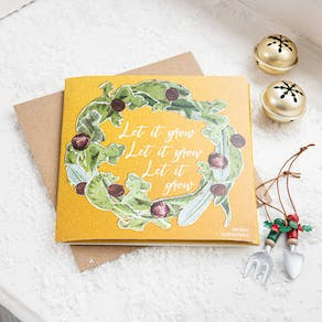 Grow Your Own Christmas Card