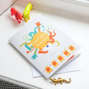 Grow Your Own Monster Greetings Card