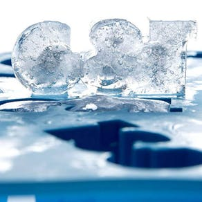 G & T Silicone Ice Cube Tray