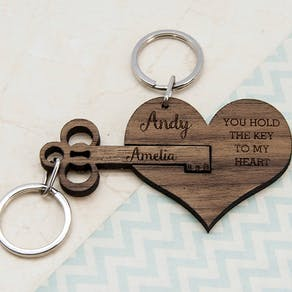 You Hold The Key To My Heart Keyring