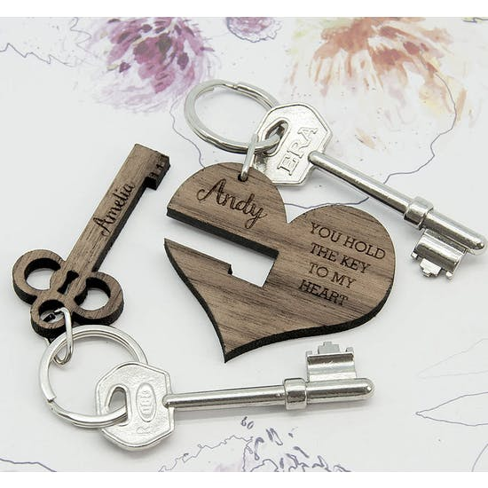 You Hold The Key To My Heart' Keyring