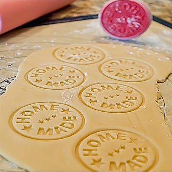 'Homemade' Or 'Eat Me' Cookie Stamp