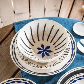 Hand Painted Serving Bowls