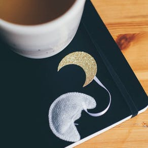 Handmade Moon Shape Teabags