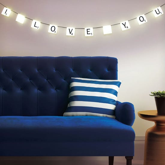 Licensed Scrabble Hanging Lights