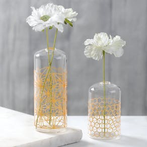 Honeycomb Vases