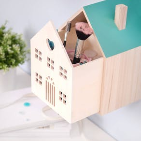 House Shaped Storage Box