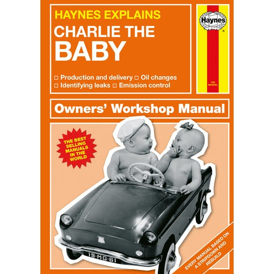 Personalised Haynes Manual for The Baby