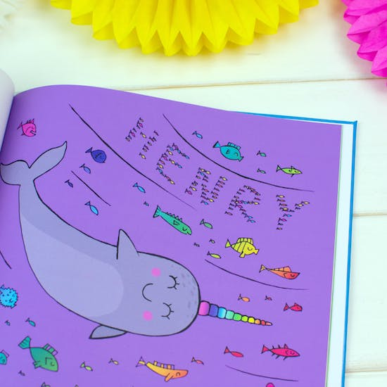 I'd Rather Be A Narwhal Personalised Book