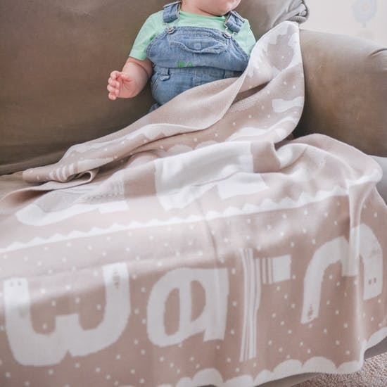 Knitted Luxury Baby Blanket