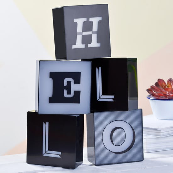 LED Alphabet Light Box