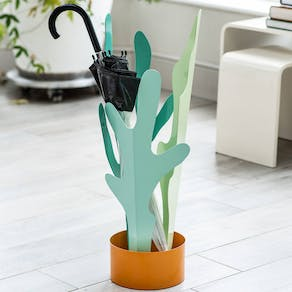 Leaf Design Metal Umbrella Stand