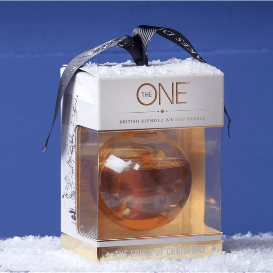 Large Whisky Filled Bauble