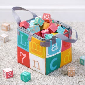 Letter And Number Bricks In Carry Case
