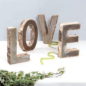 Love Birch Bark Letters
