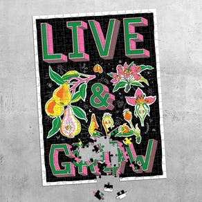 Live And Grow Puzzle Gift