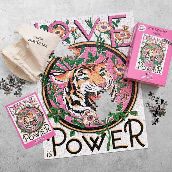500 Piece Love Is Power Artist Edition Puzzle