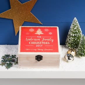 Luxury Boxed Personalised Christmas Jigsaw