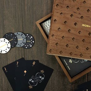 Luxury Personalised Poker Set
