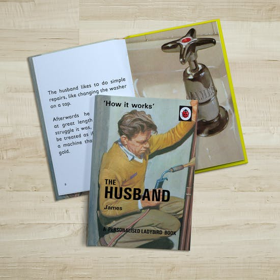 Personalised Ladybird Book: The Husband