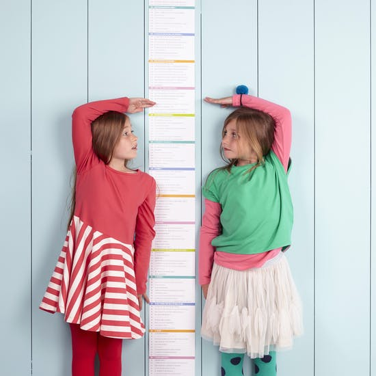 'I'm As Big As…' Height Chart