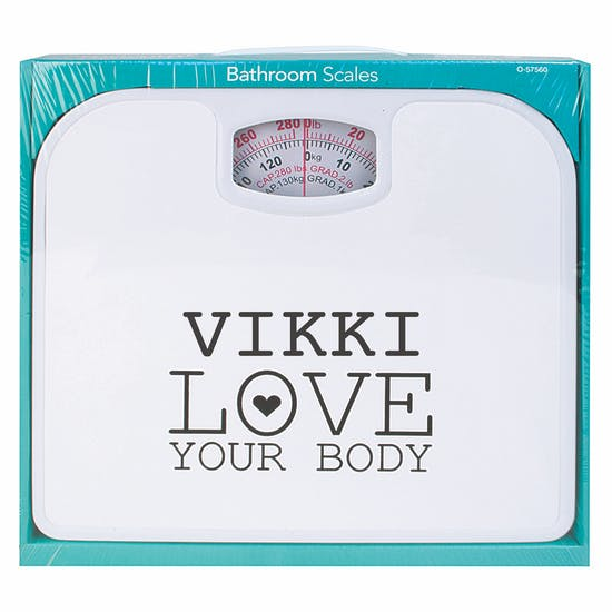 Personalised Bathroom Scales