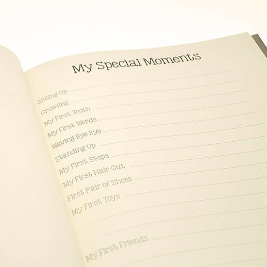 My First Year' Personalised Baby Book