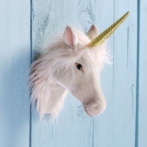 Magical Unicorn Head Wall Decoration