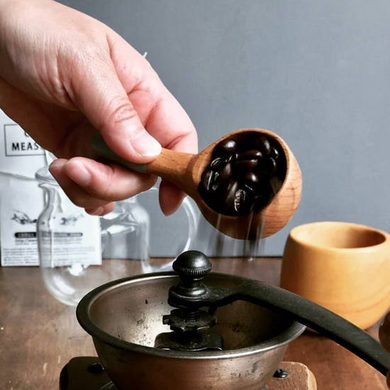 Make Your Own Wooden Coffee Measure Spoon