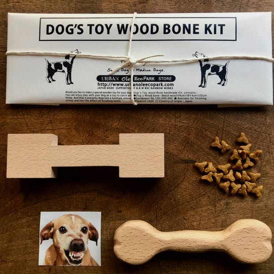 Make Your Own Wooden Dog Bone Carving Kit