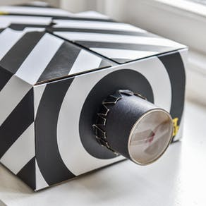 Monochrome Smartphone Projector Gift