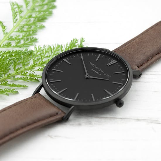 Men's Modern Vintage Personalised Watch