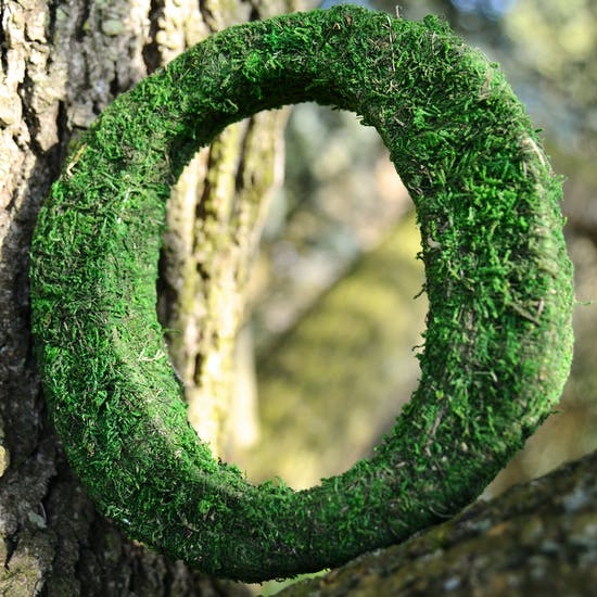 Real Moss Covered Letters