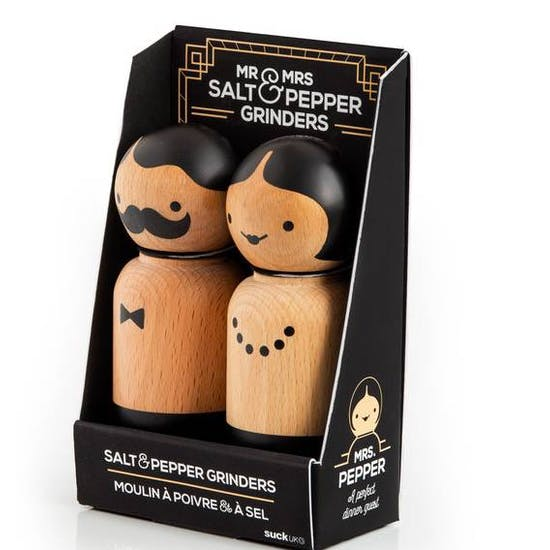 Mr Salt And Mrs Pepper