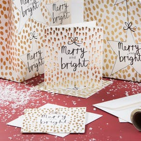 Merry And Bright Christmas Cards