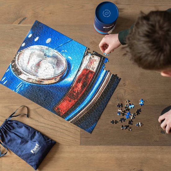Motor Racing Inspired Puzzle