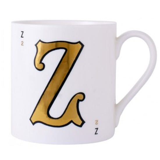 9 Carat Gold Leaf Mugs