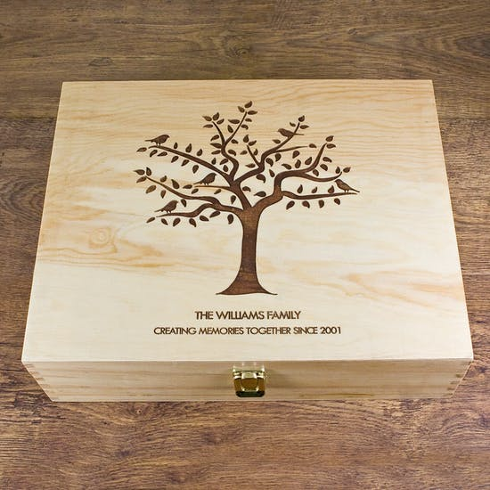 Our Family Tree Keepsake Box