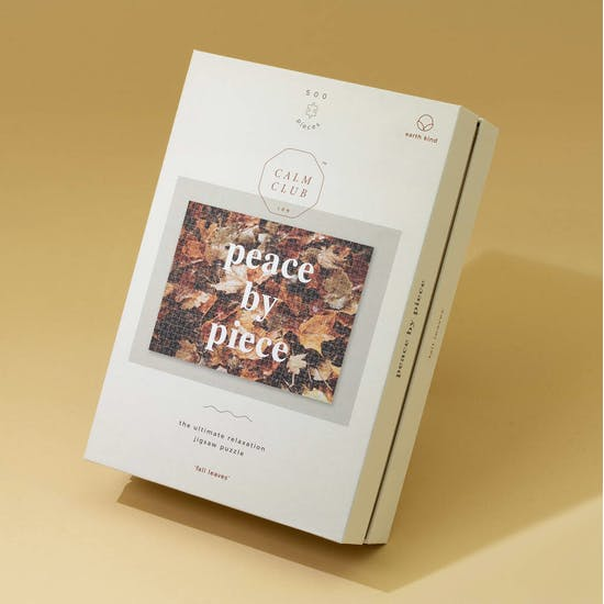 Peace By Piece Puzzle Gift
