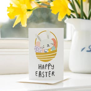 Pack Of Ten Happy Easter Bunny Cards