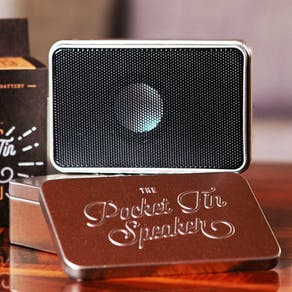 Pocket Tin Speaker