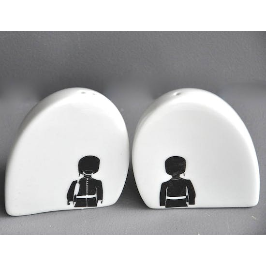 Egg Shape Porcelain Salt And Pepper Set