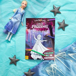 Personalised Disney Colouring Frozen Two Book