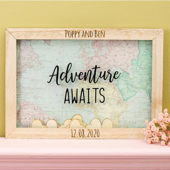 Personalised Adventure Awaits Message Frame