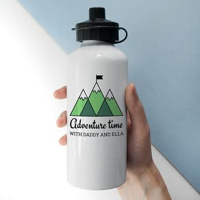 Personalised Adventure Time Flask