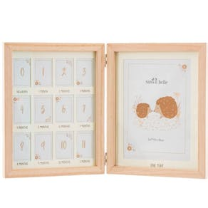Personalised Baby First Year Multi Photo Frame
